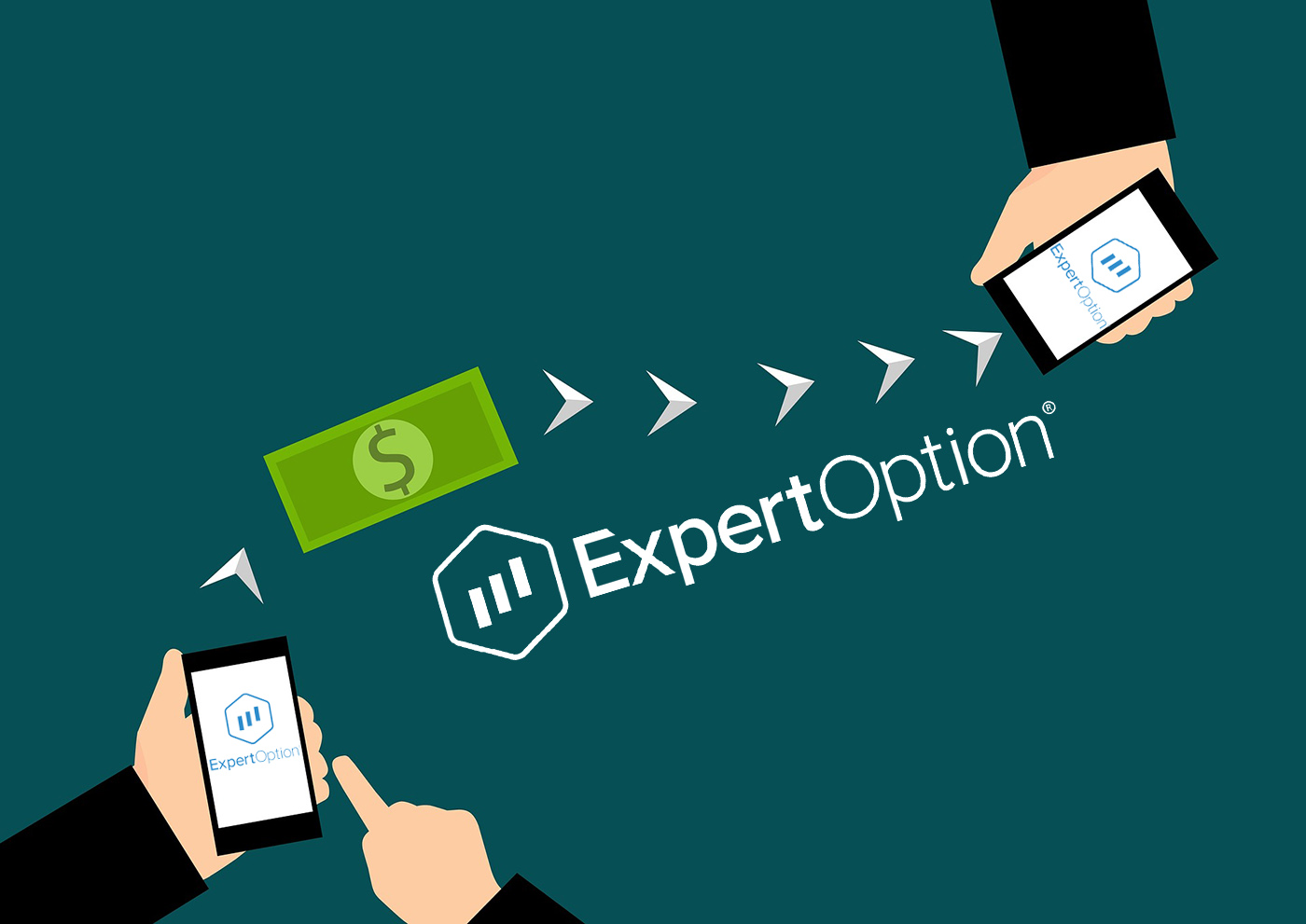 ExpertOption से पैसे कैसे निकालें