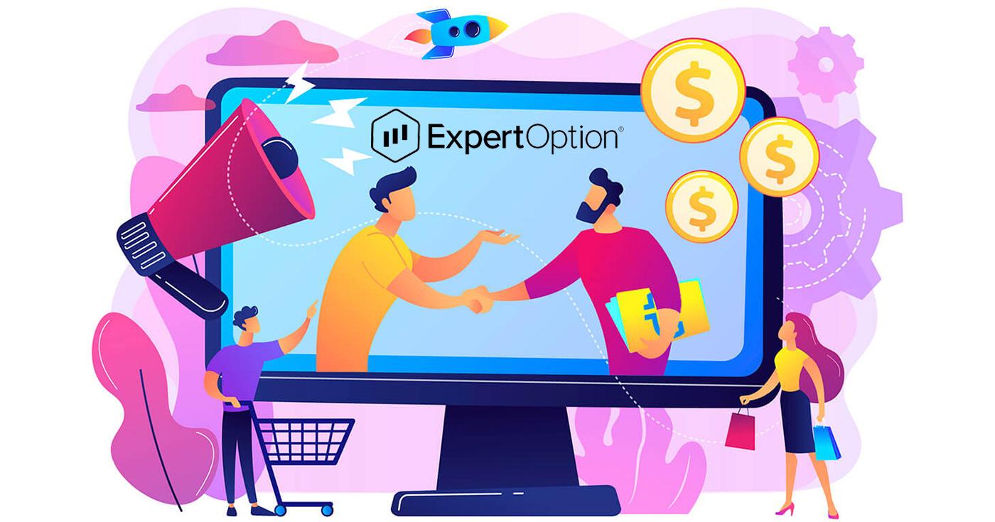 Affiliate Program से कैसे जुड़ें और ExpertOption में भागीदार कैसे बनें?